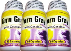 Reverse Gray Hair - Turn Gray Away Gray Hair Supplement 3 Pack