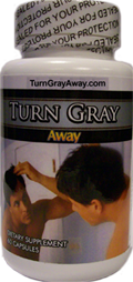 Reverse Gray Hair With Turn Gray Away With Catalase